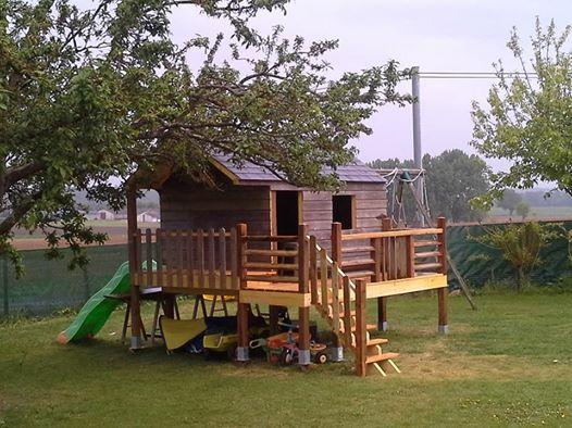 Cabane en bois réalisée par Morin Construction Bois dans le Maine et Loire 49