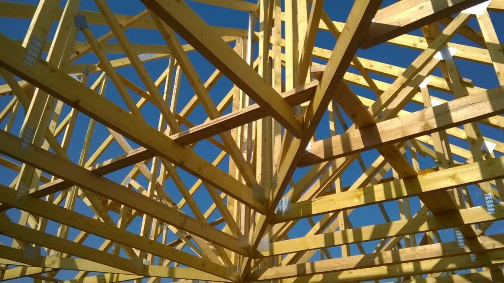 Charpente réalisée par Morin Contruction Bois dans le Maine et Loire 49