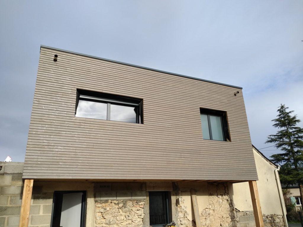 Construction en bois pour bardage et isolation par Morin Construction Bois dans le Maine et Loire 49